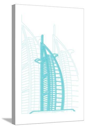 Dubai-Cristian Mielu-Stretched Canvas Print