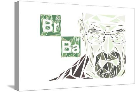Walter White-Cristian Mielu-Stretched Canvas Print