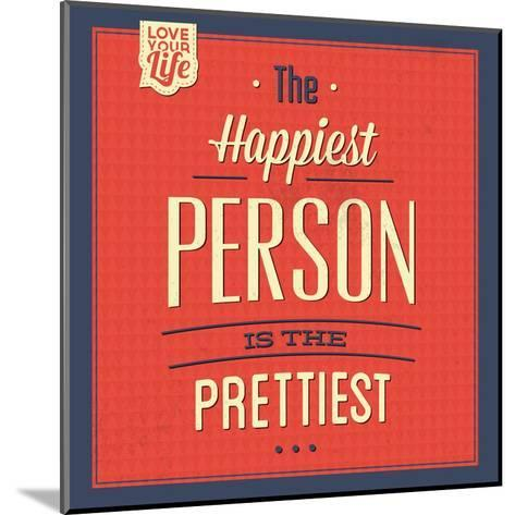 Happy Person-Lorand Okos-Mounted Art Print