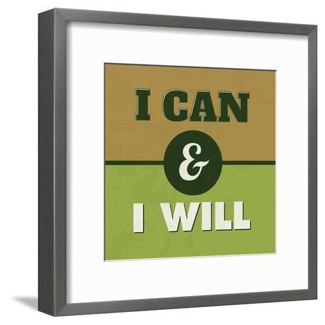 I Can and I Will 1-Lorand Okos-Framed Art Print