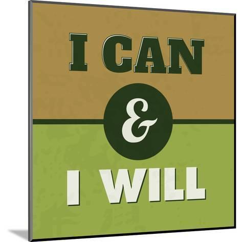 I Can and I Will 1-Lorand Okos-Mounted Art Print