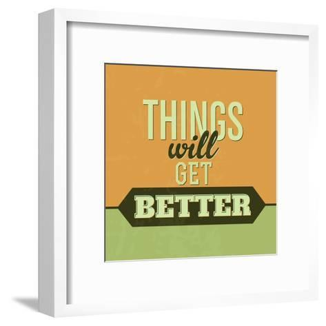 Thing Will Get Better 1-Lorand Okos-Framed Art Print