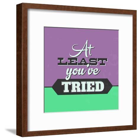 At Least You've Tried 1-Lorand Okos-Framed Art Print
