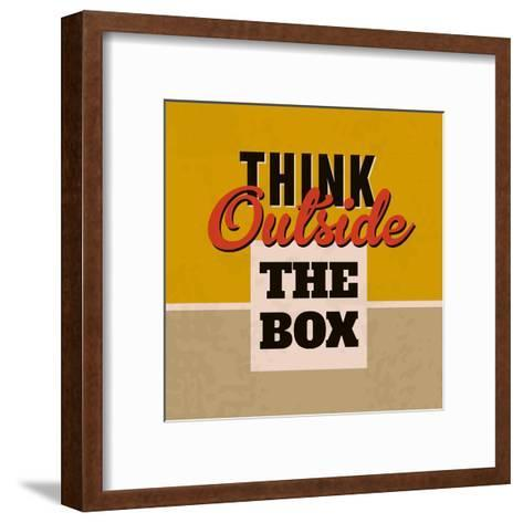 Think Outside the Box 1-Lorand Okos-Framed Art Print