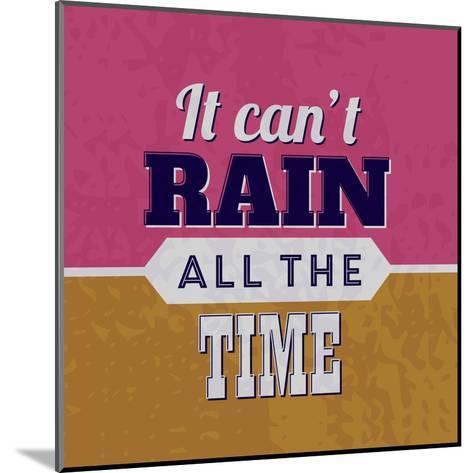 It Can't Rain All the Time 1-Lorand Okos-Mounted Art Print