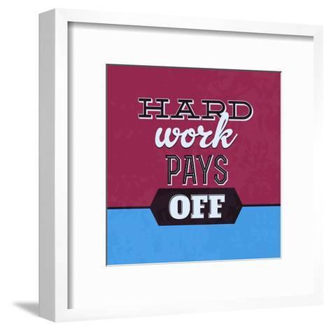 Hard Work Pays Off 1-Lorand Okos-Framed Art Print