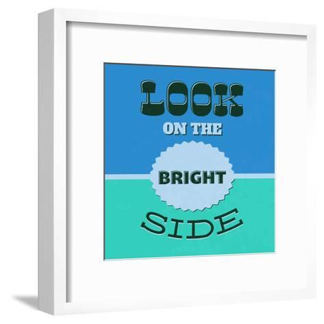 Look on the Bright Side 1-Lorand Okos-Framed Art Print