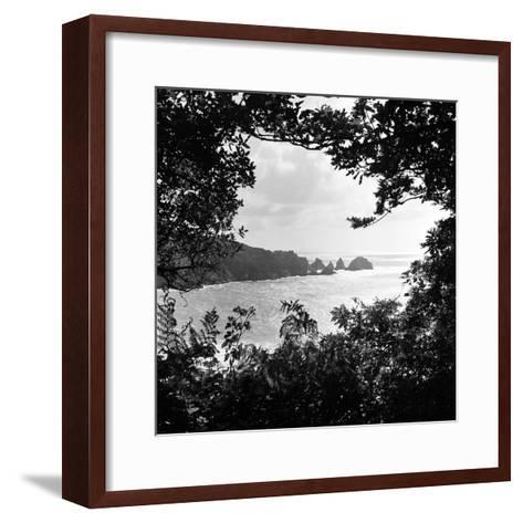 A View of Jerbourg Point 1965-Staff-Framed Art Print