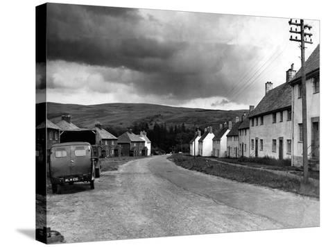 Kielder Village 1954-Staff-Stretched Canvas Print