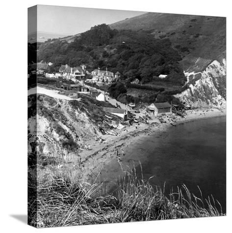 Country Scenes - Dorset-H. Lowes-Stretched Canvas Print