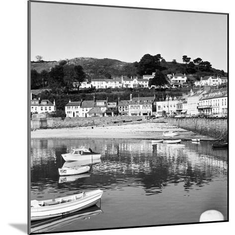 View of Gorey Harbour on the Island of Jersey, 1965-Staff-Mounted Photographic Print