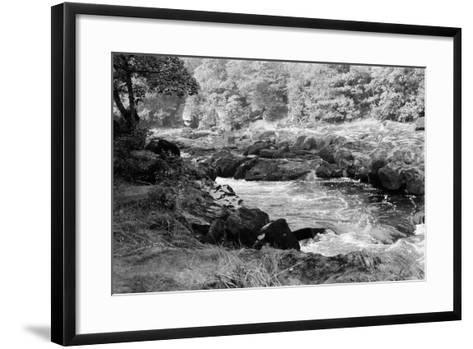 Wharfedale in North Yorkshire, Circa 1970-Staff-Framed Art Print