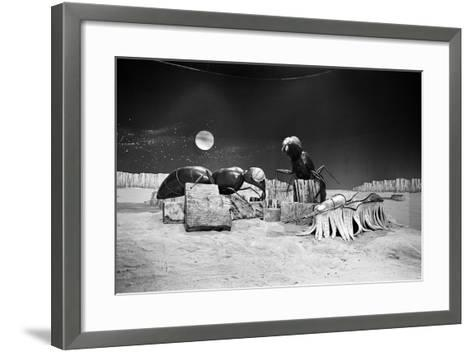 Dr Who, the Web Planet, 1965-Alisdair Macdonald-Framed Art Print