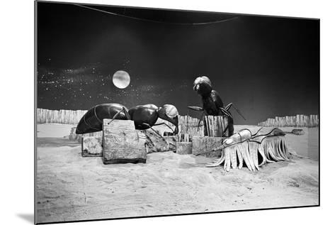 Dr Who, the Web Planet, 1965-Alisdair Macdonald-Mounted Photographic Print
