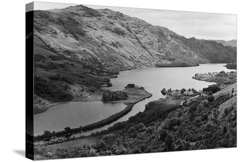 General View of Loch Lomond in Central Scotland. Circa 1952-Staff-Stretched Canvas Print