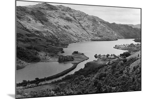 General View of Loch Lomond in Central Scotland. Circa 1952-Staff-Mounted Photographic Print