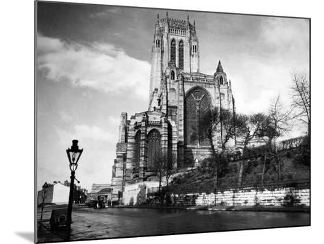 Liverpool Cathedral-Liverpool Post Echo Archive-Mounted Photographic Print