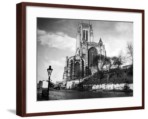 Liverpool Cathedral-Liverpool Post Echo Archive-Framed Art Print