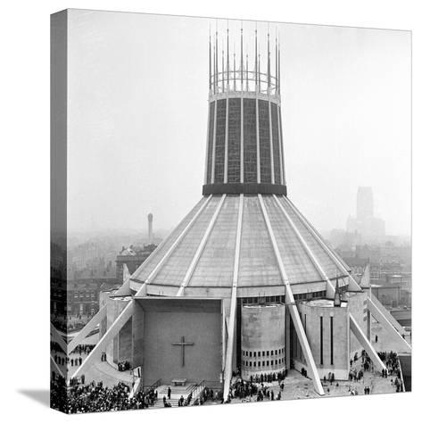 Liverpool Cathedral-Staff-Stretched Canvas Print