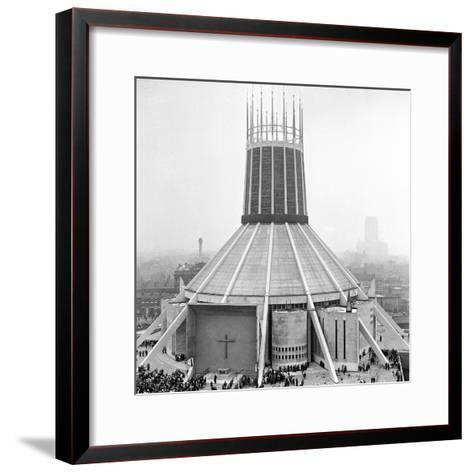 Liverpool Cathedral-Staff-Framed Art Print