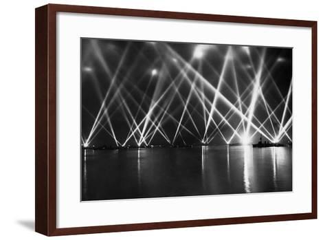 The King with His Fleet-Staff-Framed Art Print