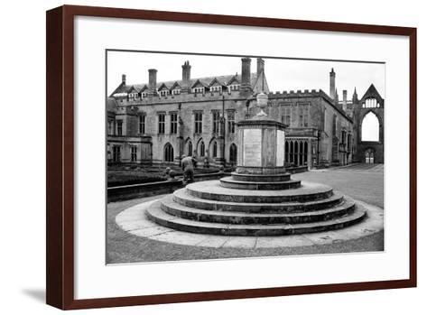 Newstead Abbey-Staff-Framed Art Print