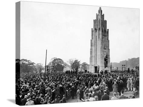 Coventry War Memorial 1927-Staff-Stretched Canvas Print