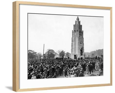 Coventry War Memorial 1927-Staff-Framed Art Print