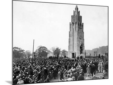 Coventry War Memorial 1927-Staff-Mounted Photographic Print
