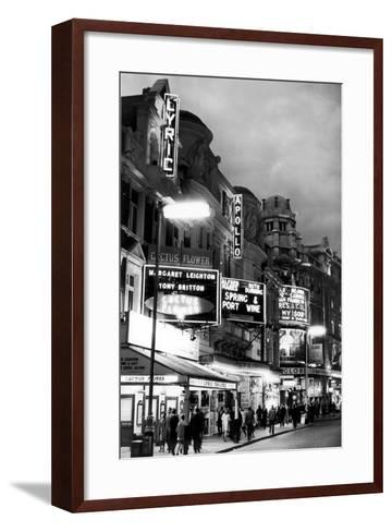Theatre's of London's West End, 1967-Staff-Framed Art Print