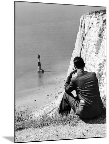 Beachy Head 1936-Sunday Mirror-Mounted Photographic Print