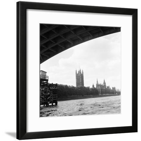 Houses of Parliament. 21st August 1971-Staff-Framed Art Print