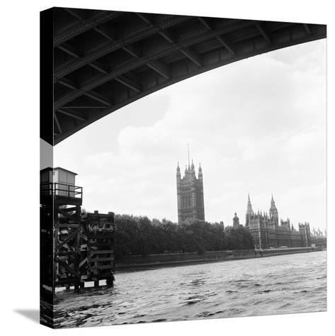 Houses of Parliament. 21st August 1971-Staff-Stretched Canvas Print