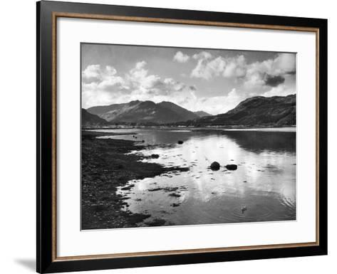 View of the Holy Loch 1947- Mirrorpix-Framed Art Print