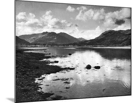 View of the Holy Loch 1947- Mirrorpix-Mounted Photographic Print