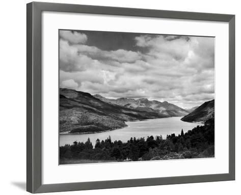 Loch Long 1946- Mirrorpix-Framed Art Print