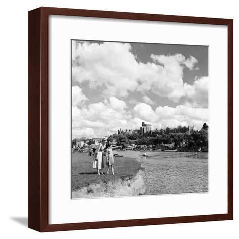 Windsor Castle, Berkshire, 1952-Staff-Framed Art Print