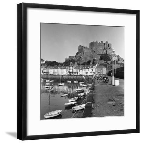 Gorey Harbour, Channel Islands 1965-Staff-Framed Art Print