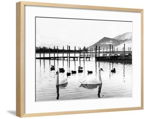 Lake District - Derwentwater 1965-Staff-Framed Art Print