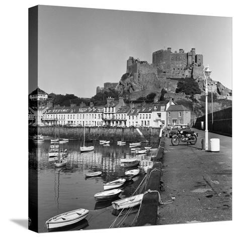 Gorey Harbour, Channel Islands 1965-Staff-Stretched Canvas Print