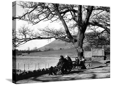Lake District - Derwentwater 1965-Staff-Stretched Canvas Print