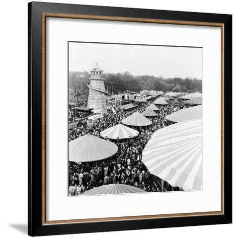 Easter Fair, Hampstead Heath, 1952-Henry How-Framed Art Print
