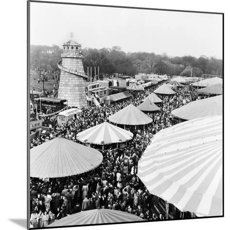 Easter Fair, Hampstead Heath, 1952-Henry How-Mounted Photographic Print