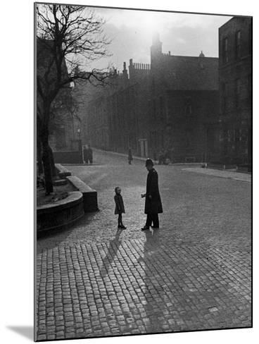 Edinburgh street scenes, 1930s-Unknown-Mounted Photographic Print