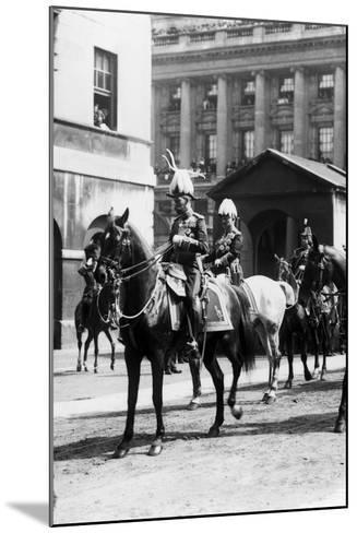 King Edward VII funeral 1910-Staff-Mounted Photographic Print