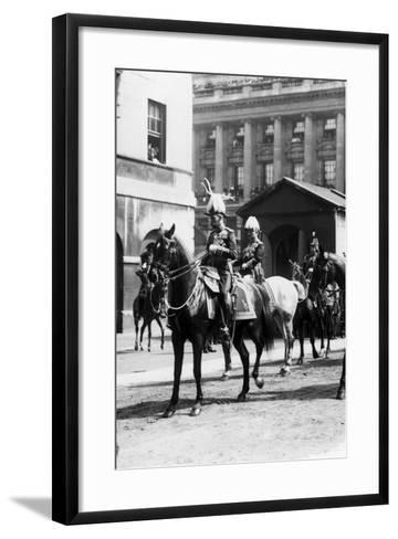King Edward VII funeral 1910-Staff-Framed Art Print