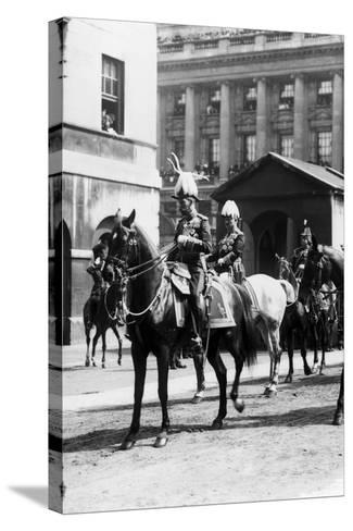King Edward VII funeral 1910-Staff-Stretched Canvas Print