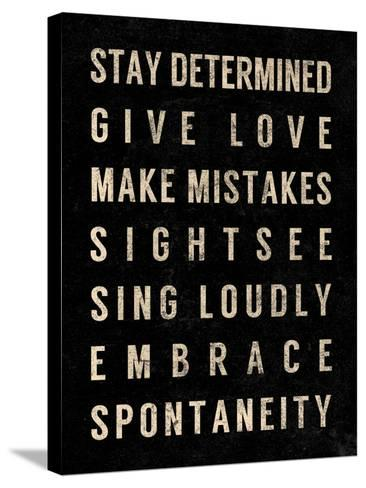 Motivational Type III-SD Graphics Studio-Stretched Canvas Print