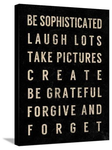 Motivational Type IV-SD Graphics Studio-Stretched Canvas Print