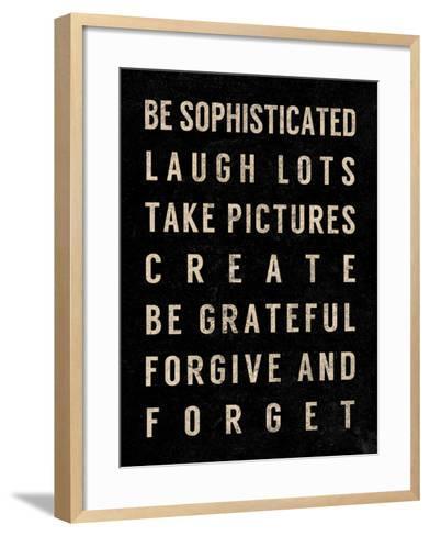 Motivational Type IV-SD Graphics Studio-Framed Art Print